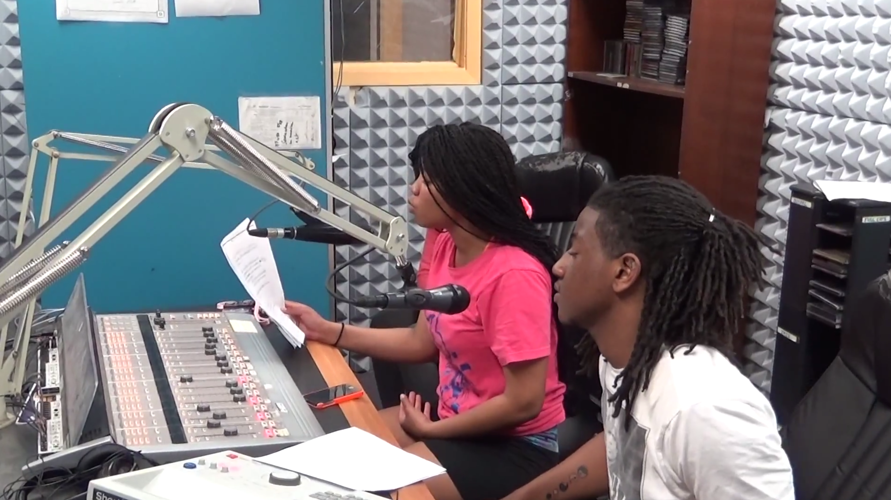 DJ Lovely With Her Show 'Real Life 101' on WPRL 91.7 FM