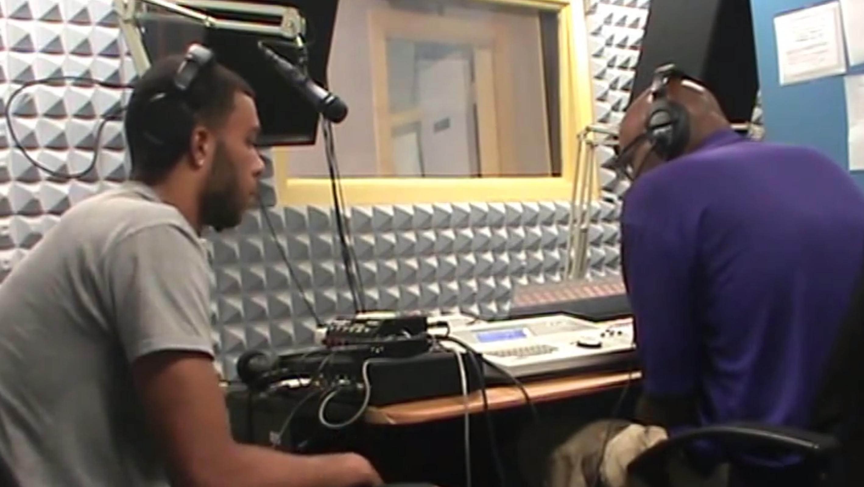 John Gibbs Jr. on the 'Coach Jay Hopson Show' on WPRL 91.7 FM