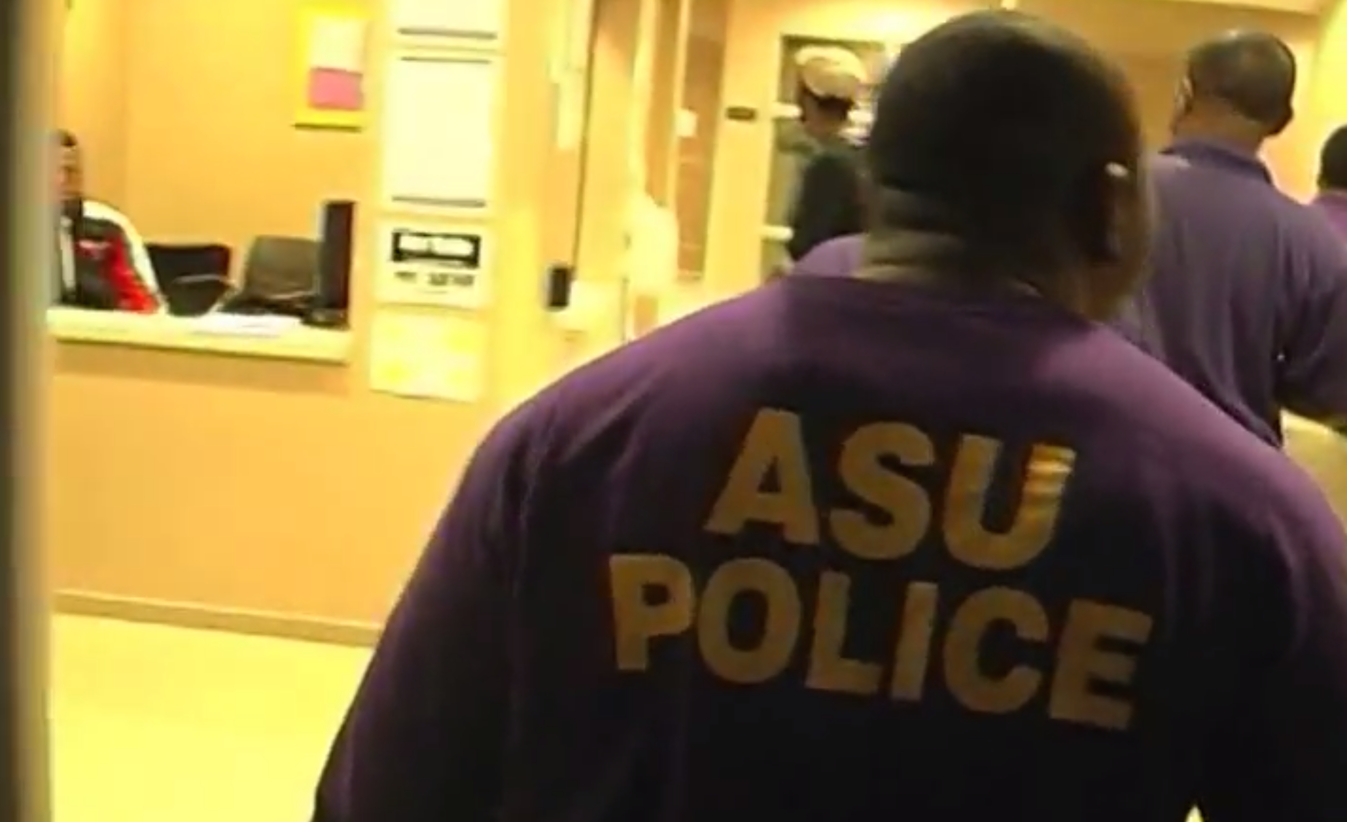 Terence Granger Reporting For ASU TV-13 On Safety Measures