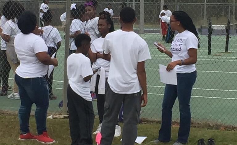 Alcorn Students Volunteer at Saturday Science Academy