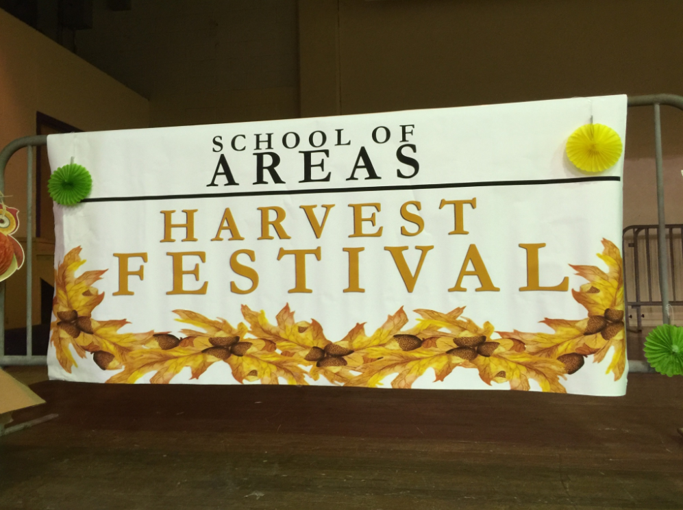 School of AREAS hosts a Fall Harvest Festival