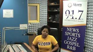 DJ Pilot Jones Doing Her Show The Control Room on WPRL 91.7 FM