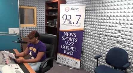 DJ Pilot Jones doing her Black History Moment on WPRL 91.7 FM