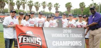 Lady Braves Win SWAC Tennis Championship