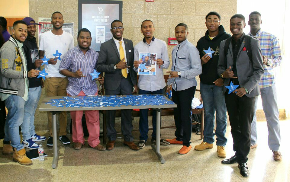 Alcorn Fraternities Donate to the Make-A-Wish Foundation