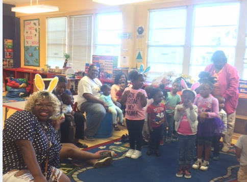 Easter Service Project at ASU Child Development Laboratory Center