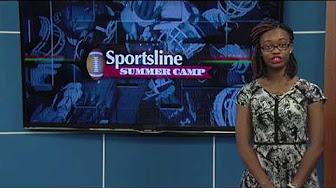 La'Keilla Veal doing her Internship at WAFB News Channel 9