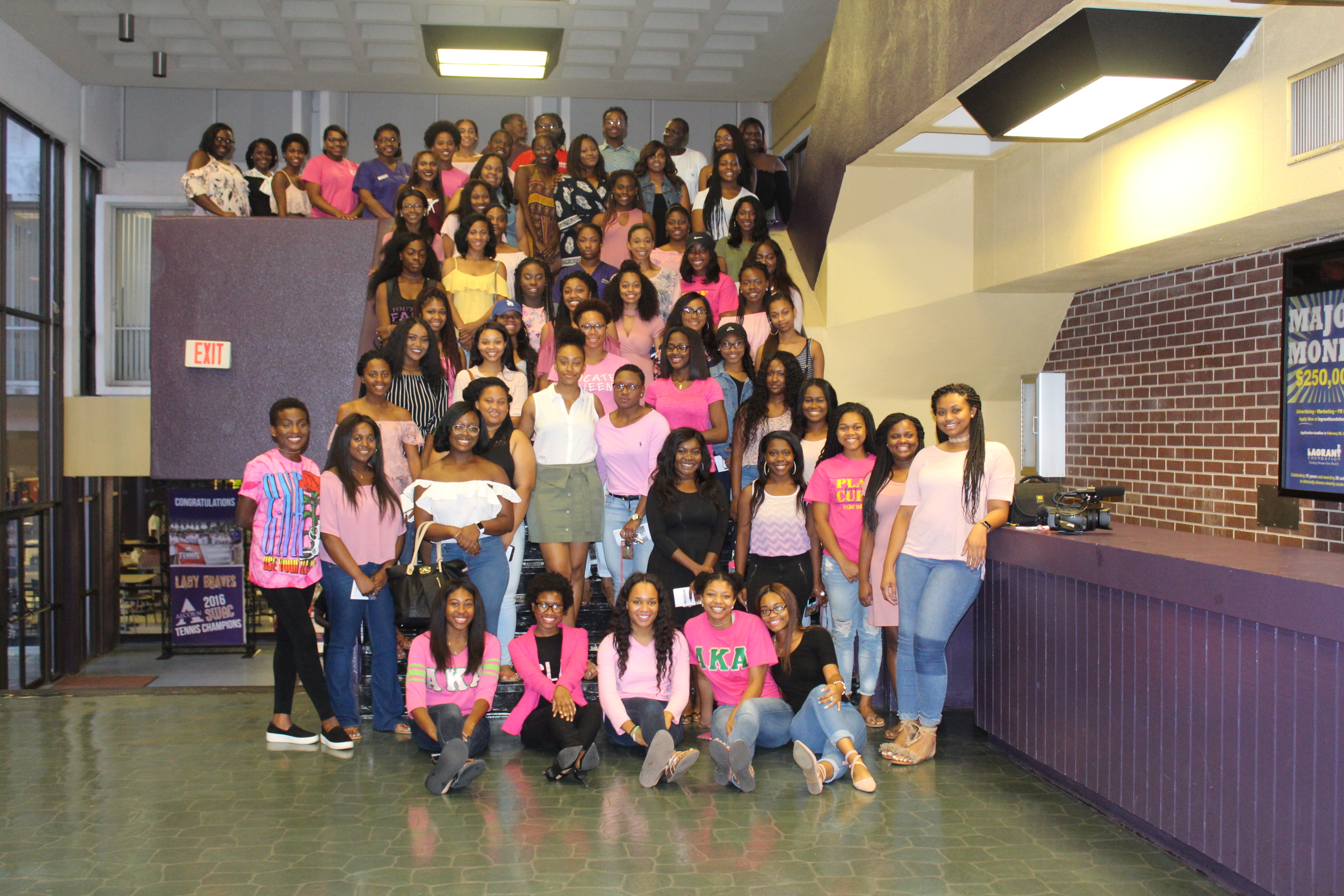 AKA's Host Breast Cancer Event