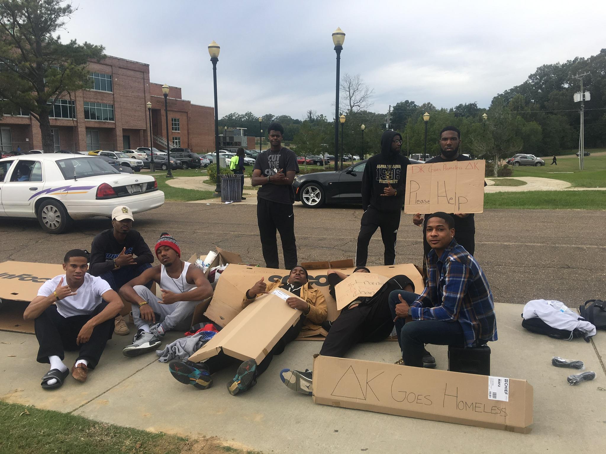 Delta Kappa Goes Homeless