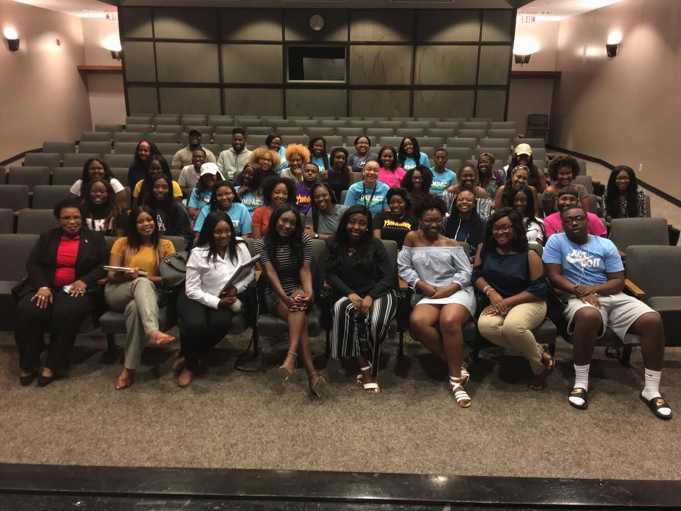 Impact hosts Tackling College 101