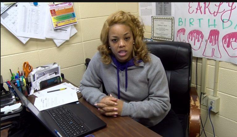 Ma'Rhonda Ratcliffe Reporting for ASU TV-13