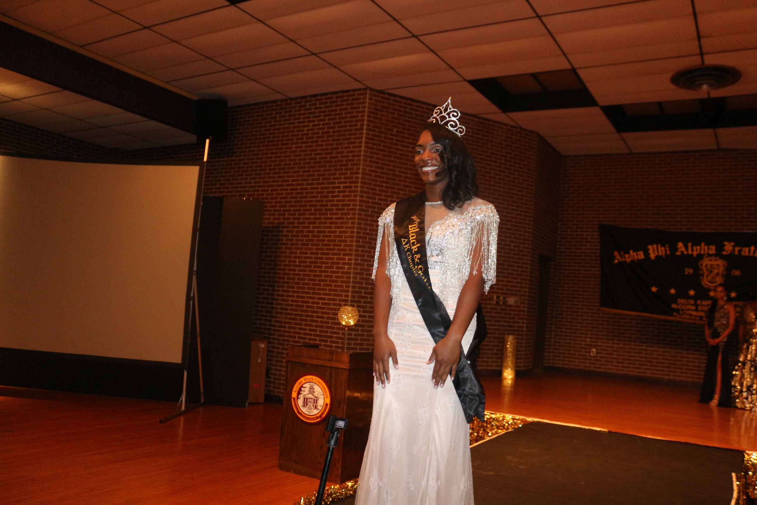 Alphas Host Miss Black and Gold Pageant 2018-2019