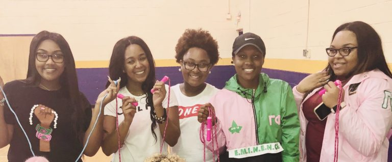 Gamma Phi Chapter Promotes Heart Health Month in February