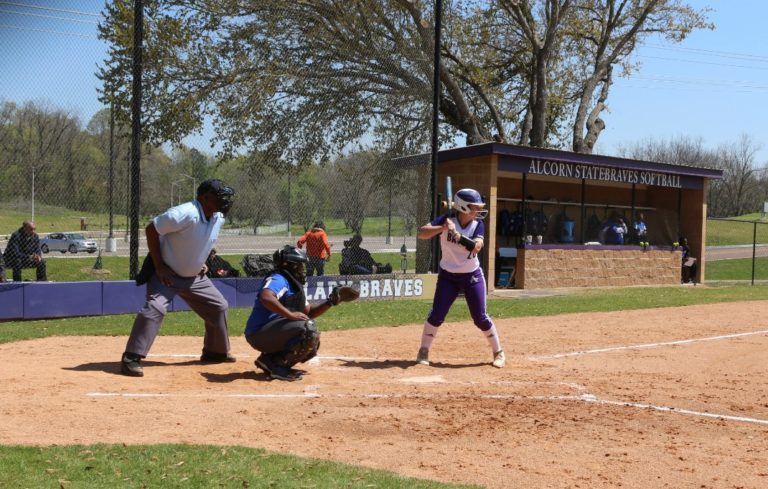 Lady Braves Dominate the Bearcats in Doubleheader