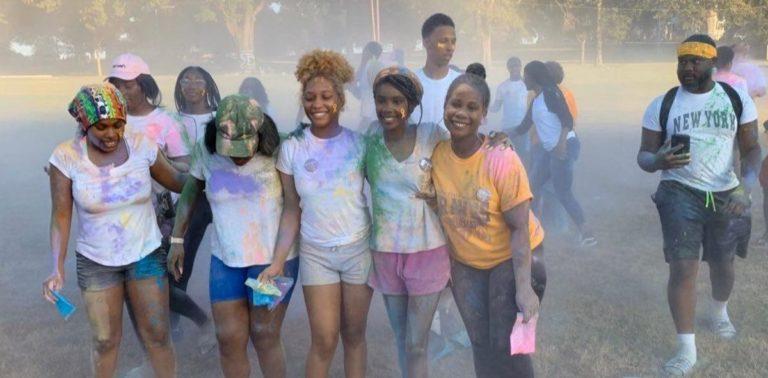 Junior Class Cabinet Hosts Pediatric Cancer Color Run
