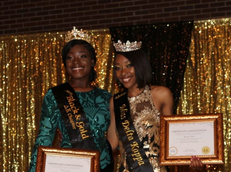 Delta Kappa Presents Miss Black and Gold Pageant 2019-2020