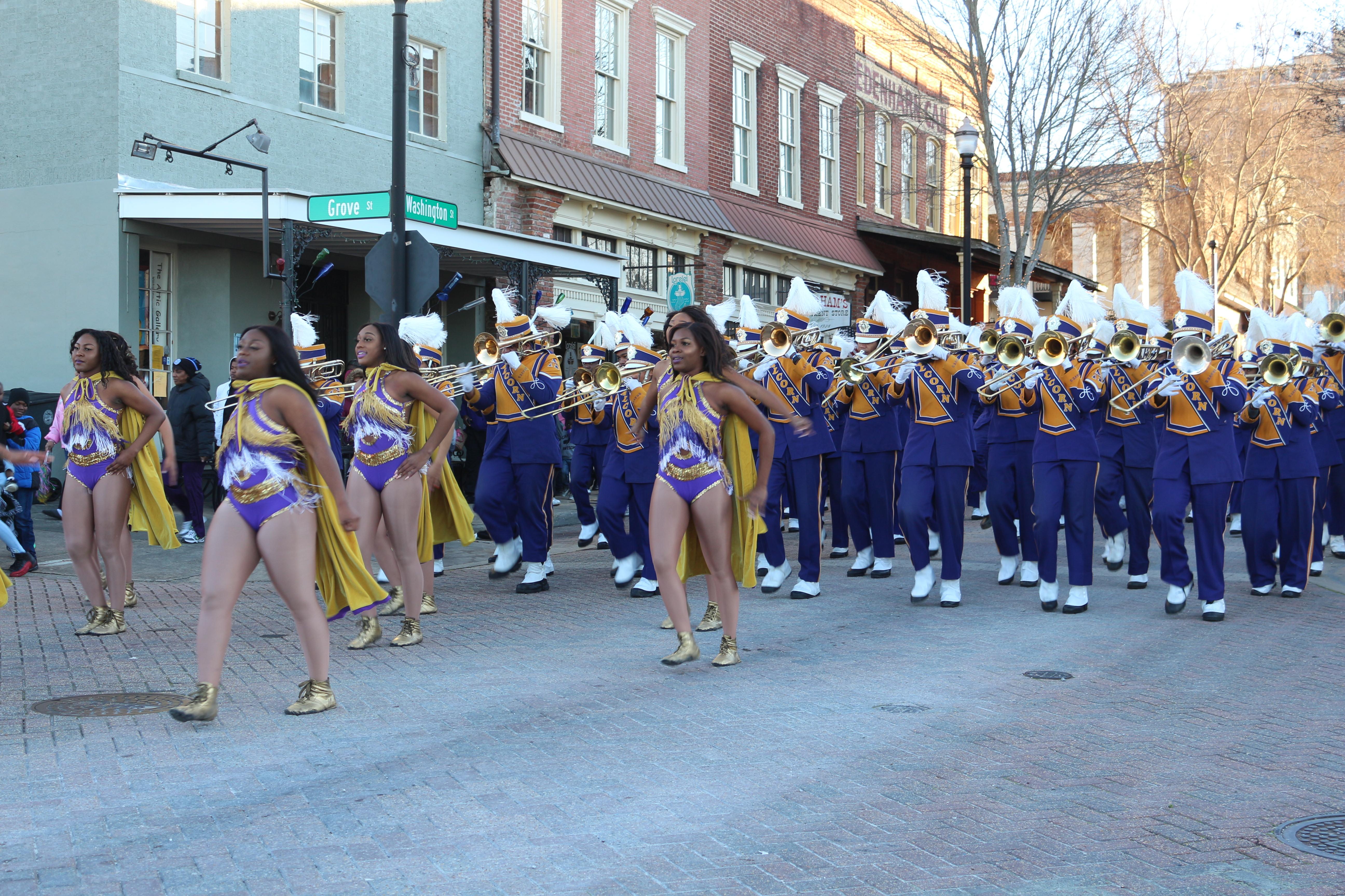 ASU Celebrates the 2019 SWAC Championship with Parade
