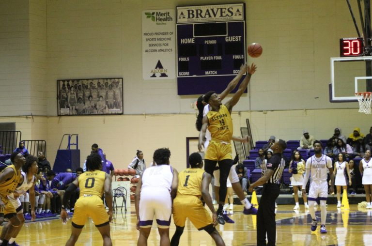 Brave Squeak Out Win Against Alabama State 63-60