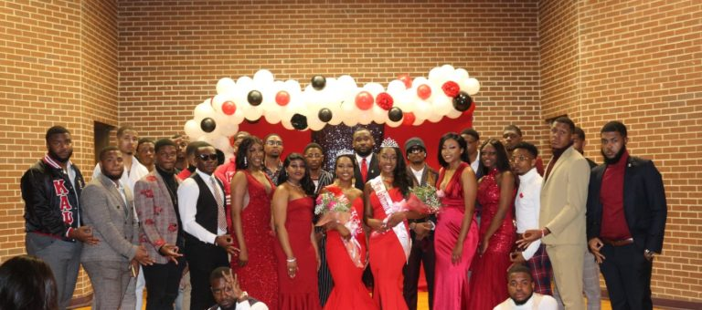 Gamma Pi Chapter Holds Miss Krimson and Kream Pageant