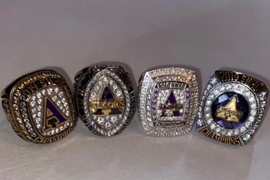 Braves Receive SWAC Championship Rings