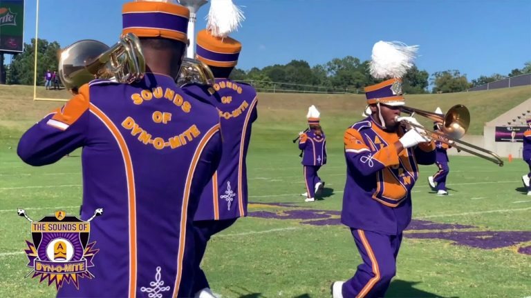 The Sounds of Dyn-O-Mite Performing at Alcorn's Homecoming Halftime Against Savannah State University (2019)