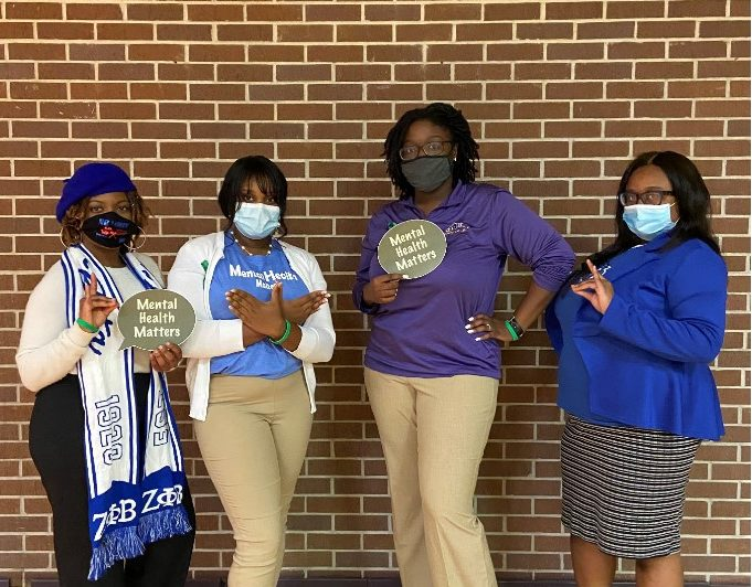 Zetas and Department of Residence Life Present National Stress Awareness Day