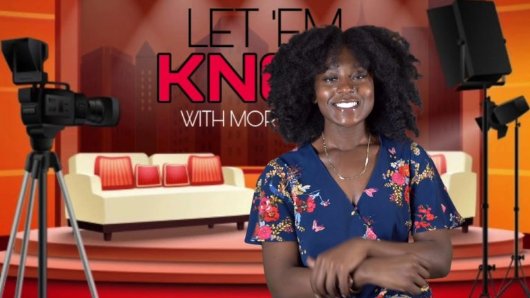 Morgan Gill doing her show 'Let 'Em Know' (March 1, 2021)
