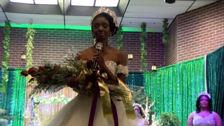 The Coronation of Miss Alcorn State University 2020-2021, Taea Jackson