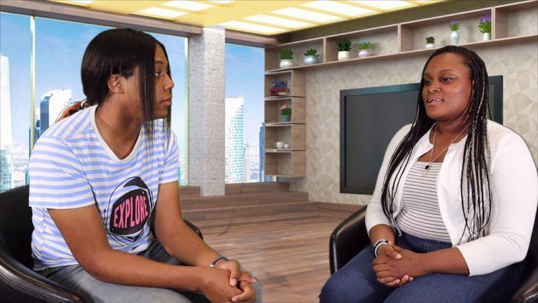 Jordan Lampley Interviewing Te'Yah Wright
