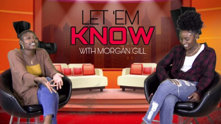 Morgan Gill doing her show 'Let 'Em Know' (March 15, 2021)