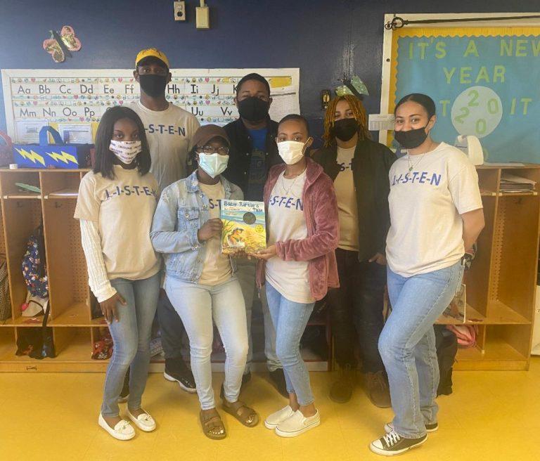 Lambda Sigma Nu Organizes Reading Community Service Event
