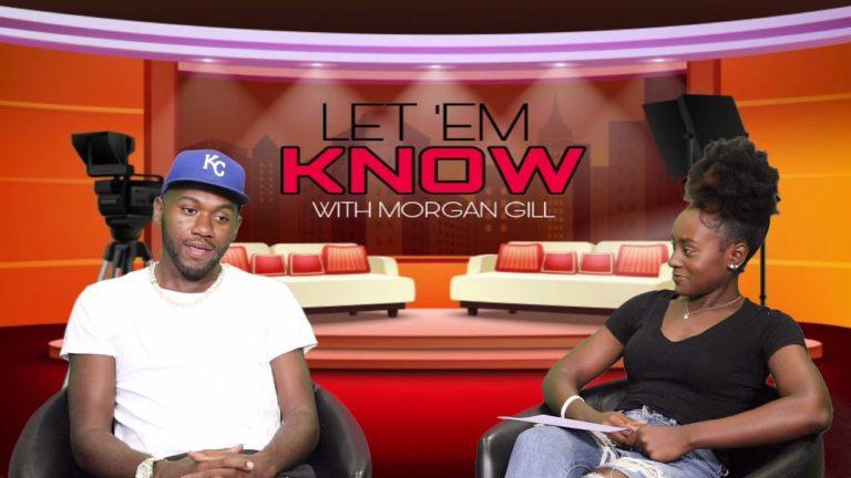 Morgan Gill doing her show 'Let 'Em Know' (September 15, 2021)