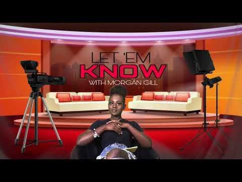 Morgan Gill doing her show 'Let 'Em Know' (October 15, 2021)